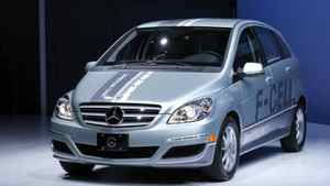 2011 Mercedes Benz F-Cell Hydrogen Fuel-Cell