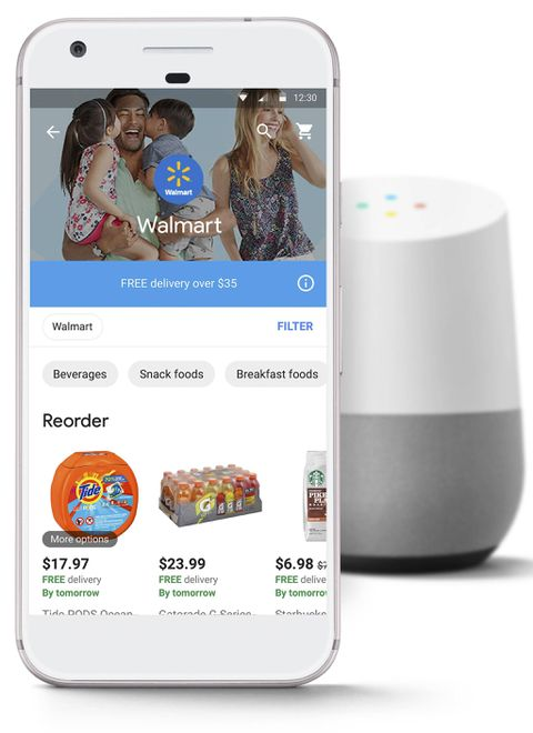 Walmart partners with Google to introduce voice-activated shopping