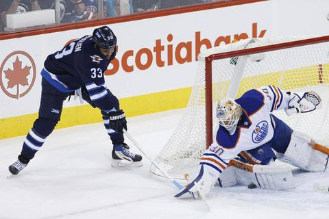Perreault scores overtime winner as Jets hand Oilers 11th straight loss