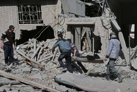 Five-day death toll in Syria rebel enclave tops 400: Monitor