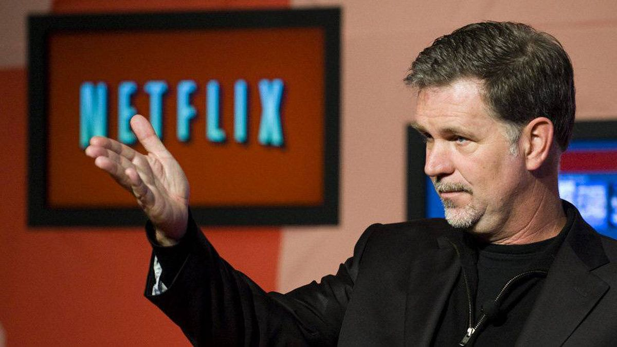 Reed Hastings, CEO of Netflix, announces Netflix's expansion to Canada in Toronto, on Wednesday, September 22, 2010.