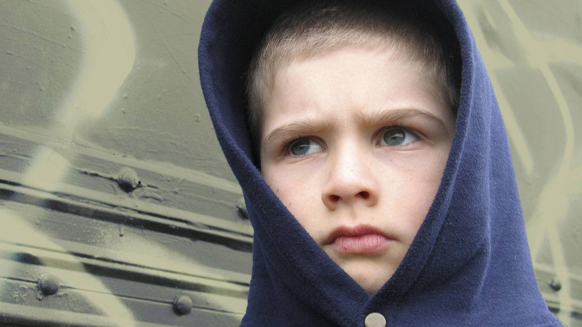 Teenaged boys may have trouble verbalizing their anger.