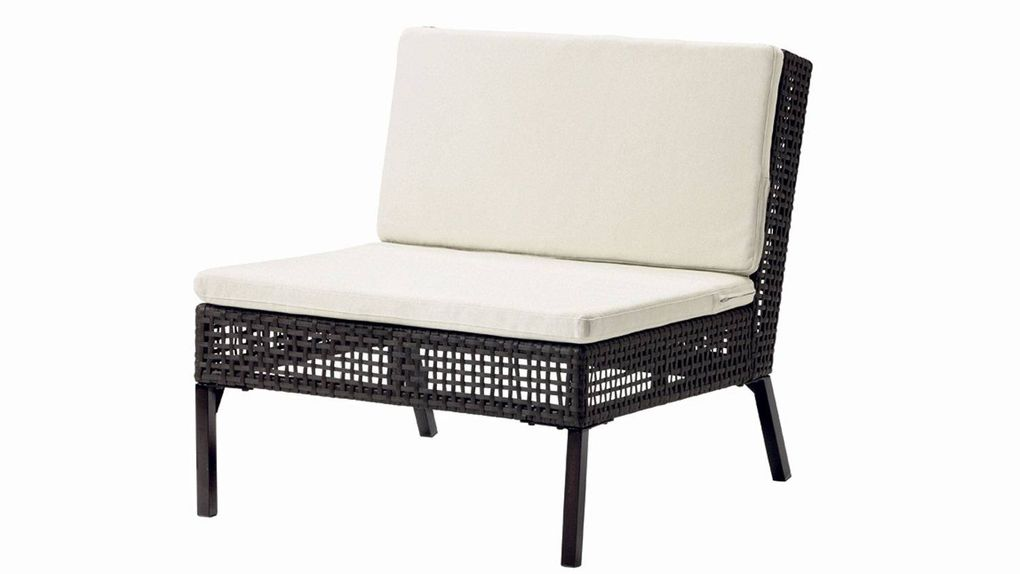 Garden With These Open Weave Chairs