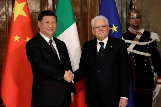 China's embrace of Italy is not about investments; it's about influence in Brussels