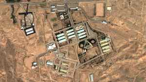 A 2004 satellite image provided by DigitalGlobe and the Institute for Science and International Security shows the military complex at Parchin, Iran.