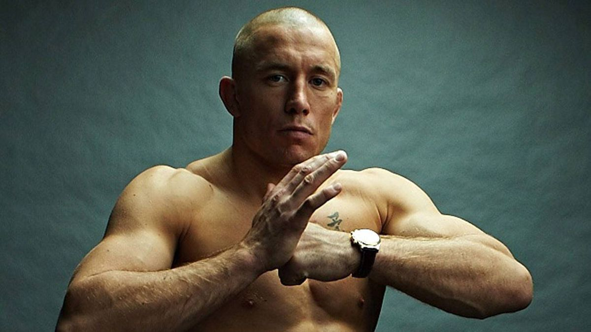 Georges St.-Pierre (GSP) of the Ultimate Fighting Championship
