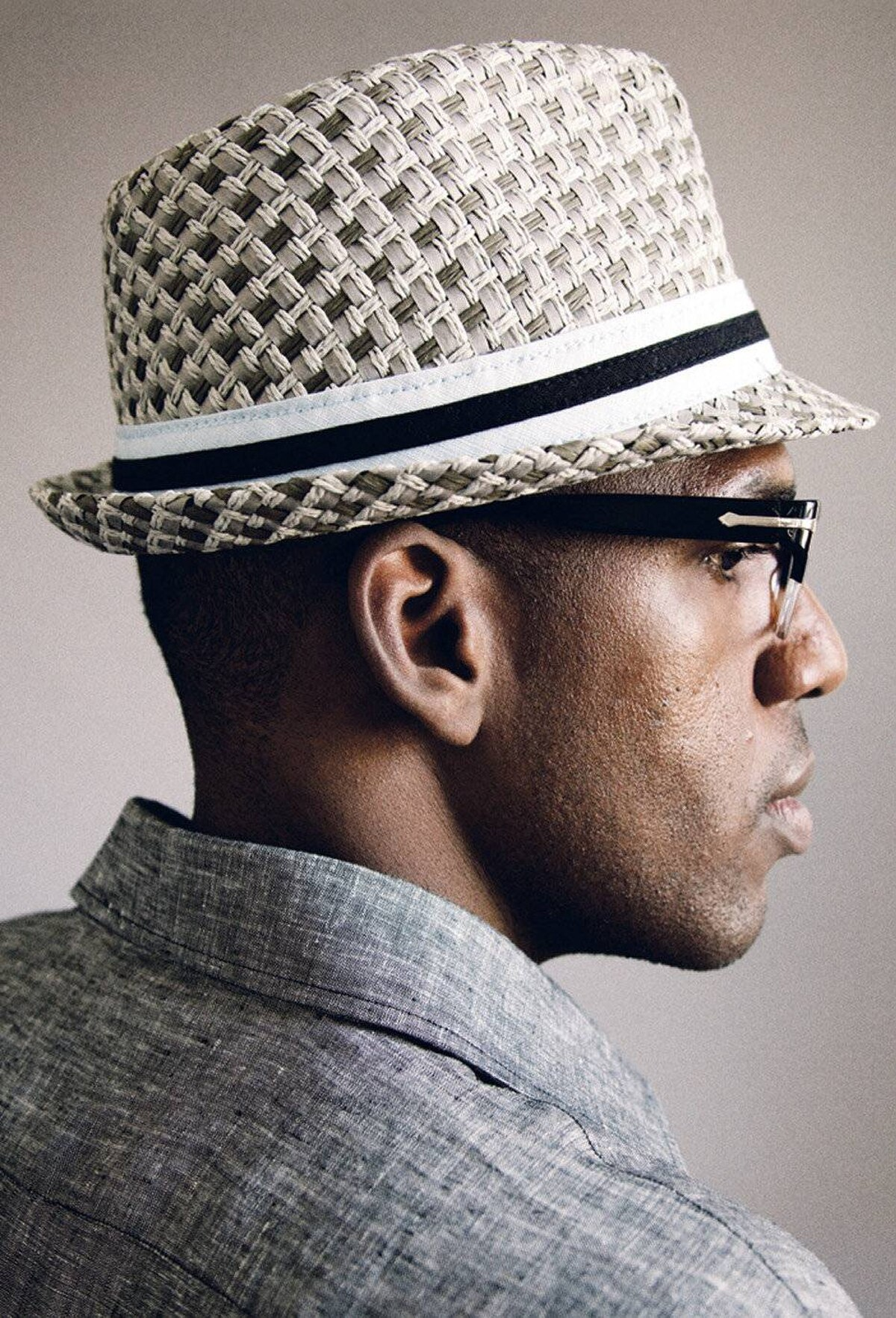 'For years I avoided wearing hats as I thought my head was too large. But I quickly got over that insecurity in my early 20s with a paper-boy cap and never looked back. This summer, I?m thinking I'll rock a fedora. They protect your skin from the sun and can add dimension to your personality.' -Vaughn Stafford Gray, concierge at Harry Rosen in Toronto Goorin Brothers fedora, $55, Harry Rosen Private Label shirt, $125 at Harry Rosen (www.harryrosen.com)