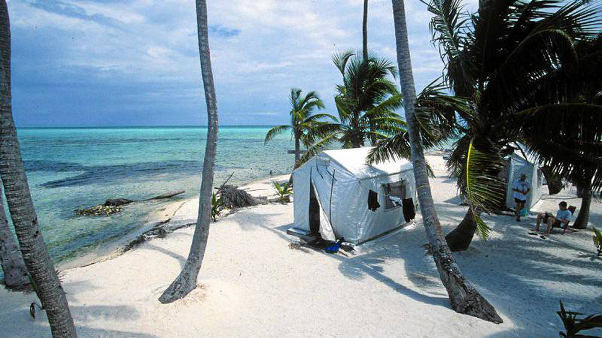 A private tent on a beach in Belize can be romantic.
