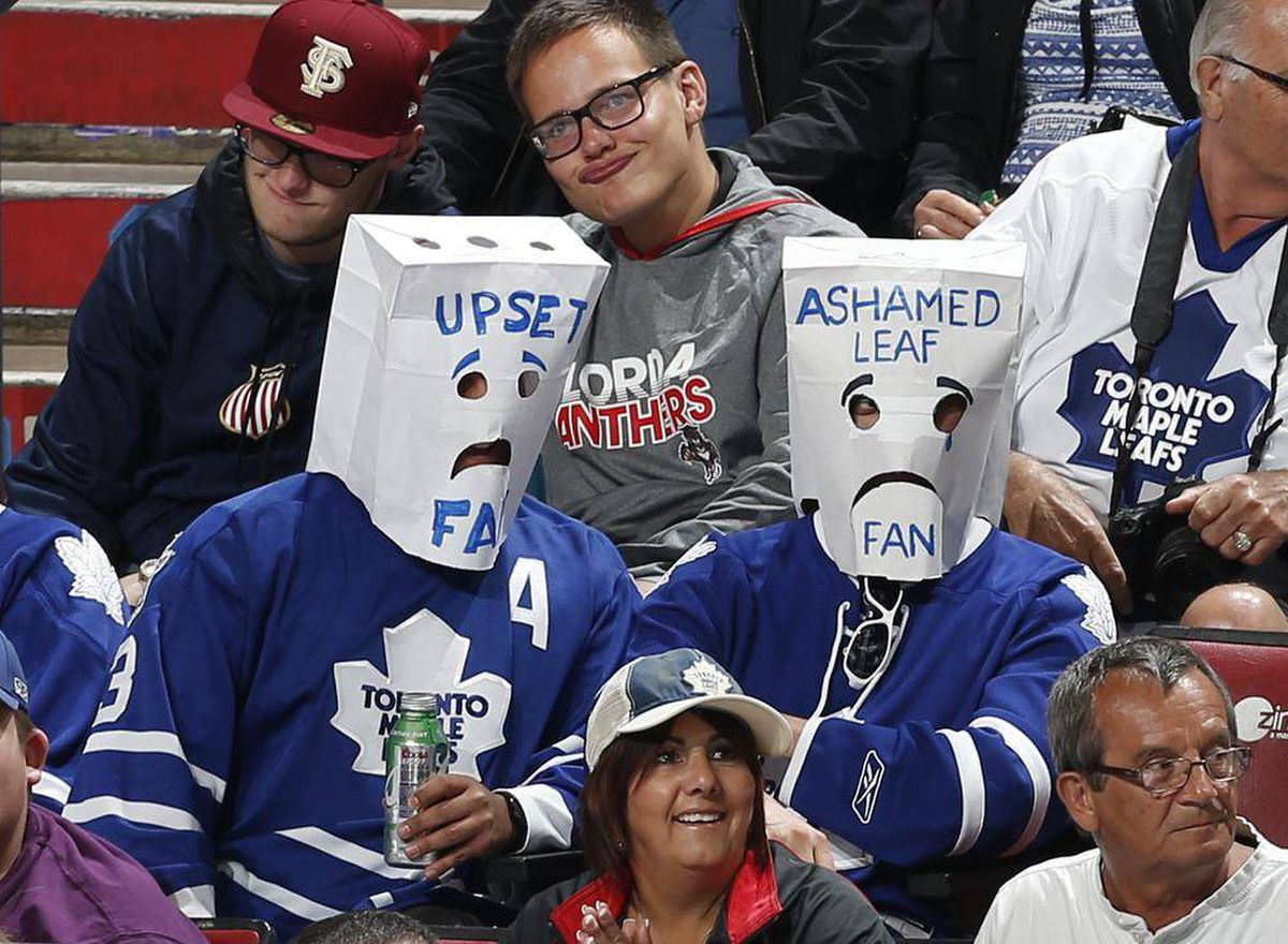 Have Leafs Fans Finally Had Enough The Globe And Mail