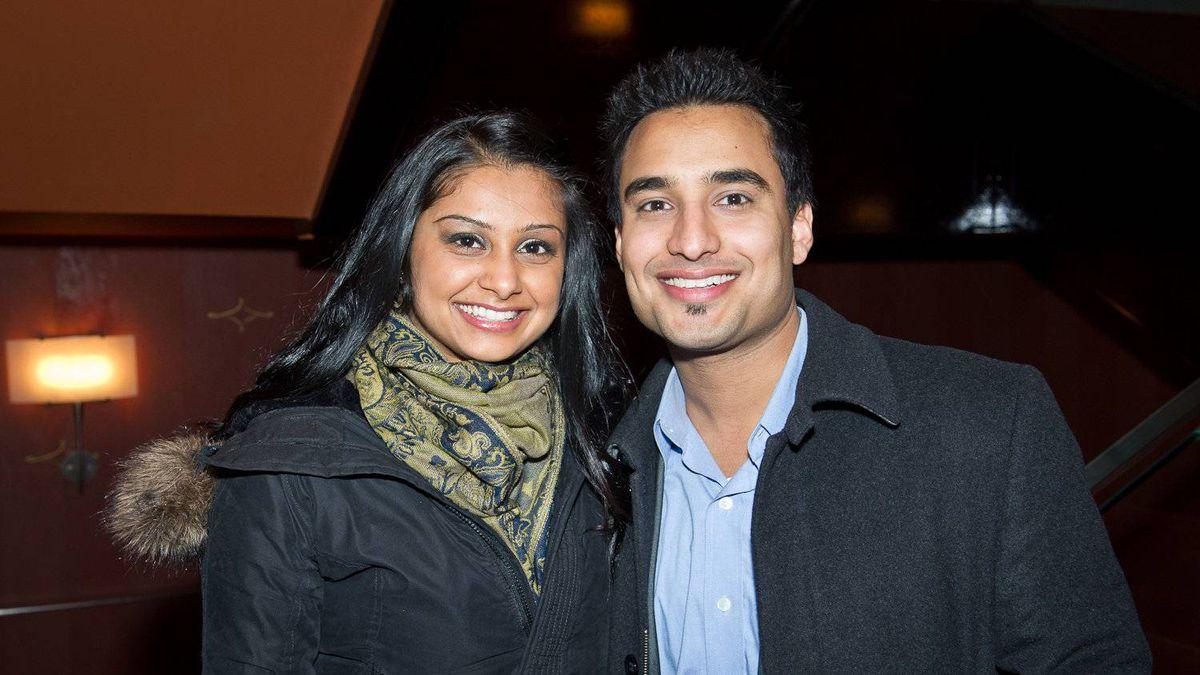 Rena Sangha and Gurdeep Ahluwalia