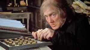 Albert Finney in Scrooge (1970).