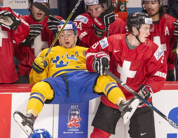 Four Canadian teams in mix to land top prospect Rasmus Dahlin in NHL draft  lottery 3fbe5c939