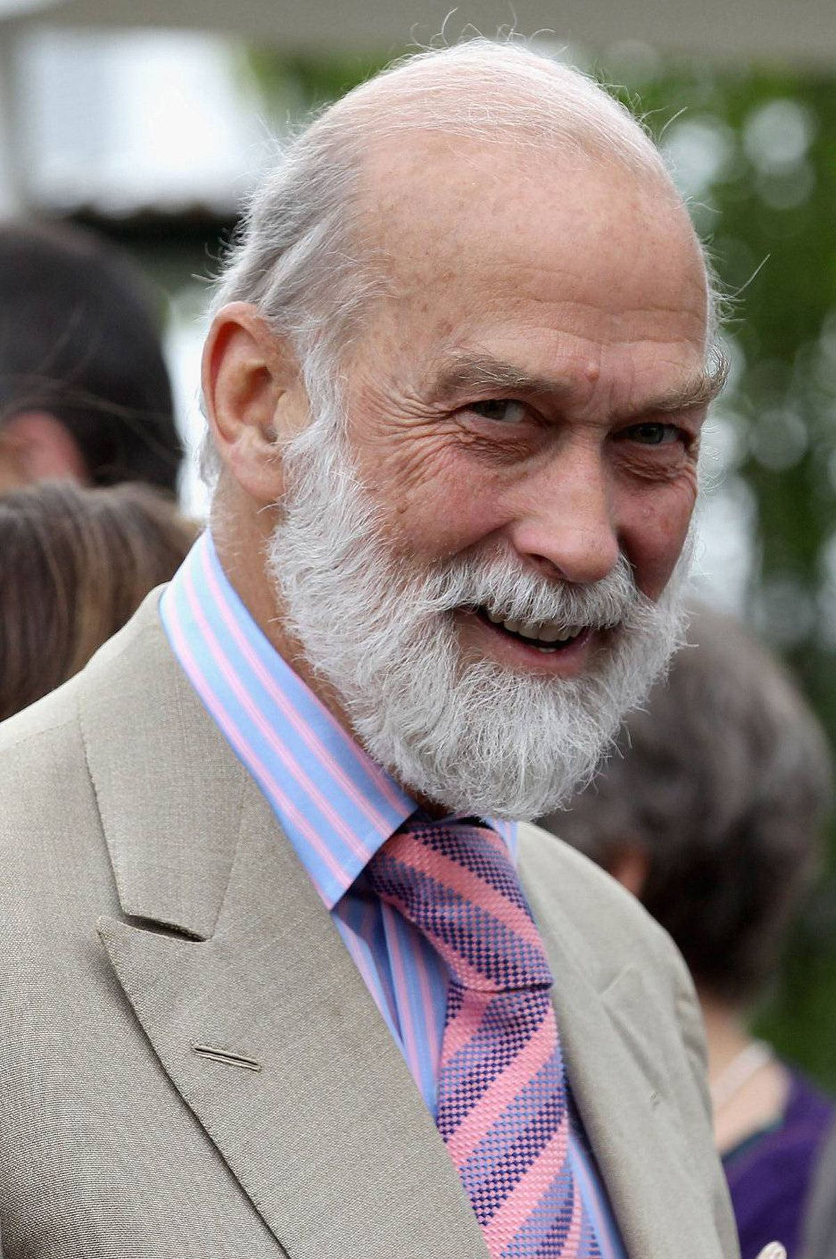 Britain's Prince Michael of Kent visits the Chelsea Flower Show press and VIP day in London on May 23, 2011.