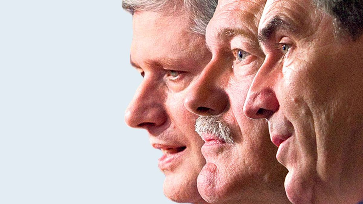 Tory Leader Stephen Harper, Liberal chief Michael Ignatieff and the NDP's Jack Layton will square off in televised debates Tuesday and Wednesday.