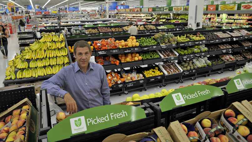 Wal-Mart Canada CEO David Cheesewright in a Mississauga store, September 12, 2011.