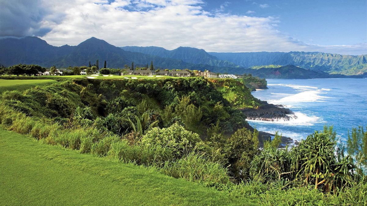 The Makai Golf Course in Kauai offers wider landing areas, softer contouring around the greens and a cutback in the density of jungle off the fairway.