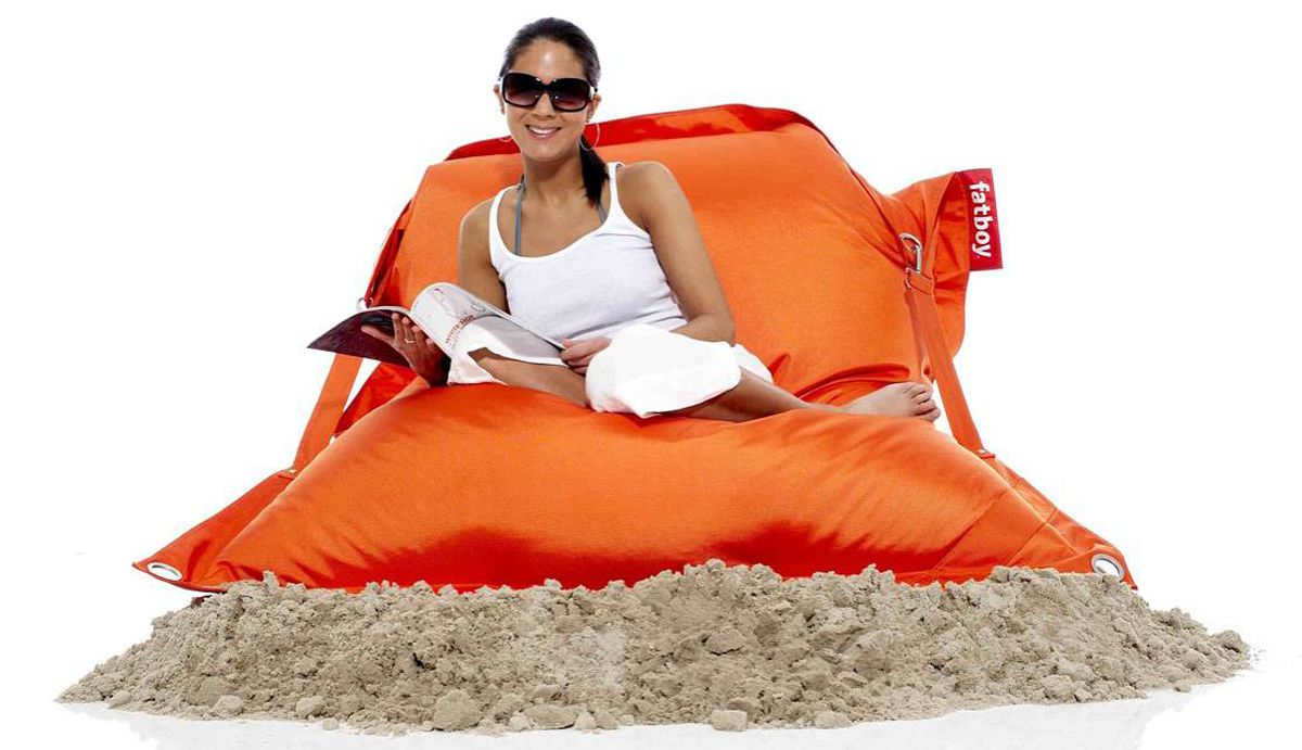 Fat Boy Fatboycanada Offers Bean Bags For Outdoor Use