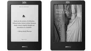 The Kobo eReader Touch is almost totally controlled through touch, and page turns are quicker than with its predecessor.