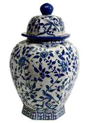Inject a touch of Asian (or Mexican) oomph to your entranceway, living room or dining room with a vibrantly painted ginger jar. Ethan Allen's Hexagon Ginger Jar features a traditional floral design delicately hand-painted on porcelain. $249 through www.ethanallen.com.