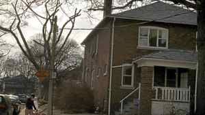 Front view of the house located on on 44 Maclean Ave., owned by Toronto Housing Corportation, Toronto March 17, 2011