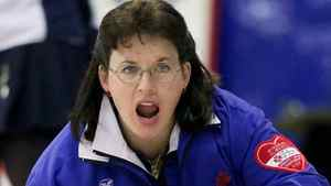 Alberta skip Cathy King won the Canadian senior women's curling title on Sunday. (CP FILE PHOTO/Chuck Stoody)