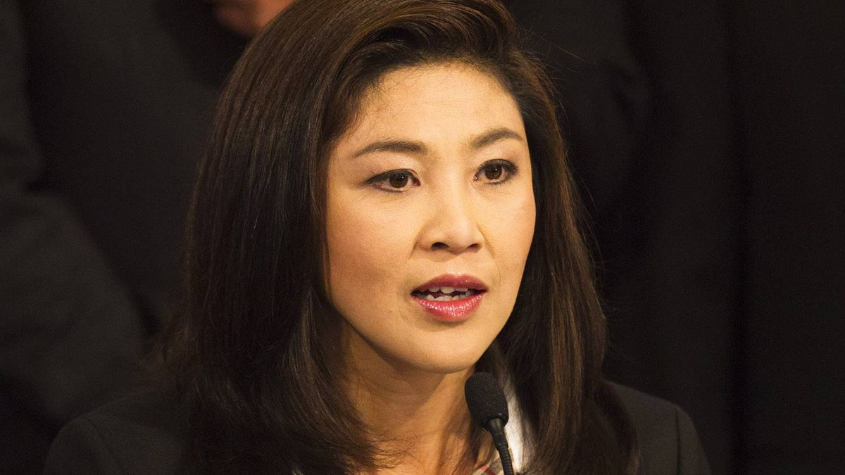 Yingluck Shinawatra, the opposition Puea Thai party candidate and sister of fugitive Thai ex-prime minister Thaksin Shinawatra, speaks during a press conference after becoming the Southeast Asian kingdom's first female prime minister on July 3, 2011 in Bangkok, Thailand.