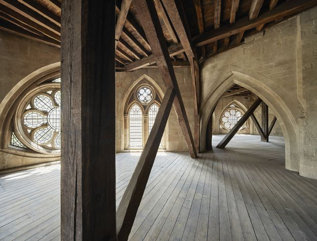 After A 700 Year Slumber A Secret Attic Filled With