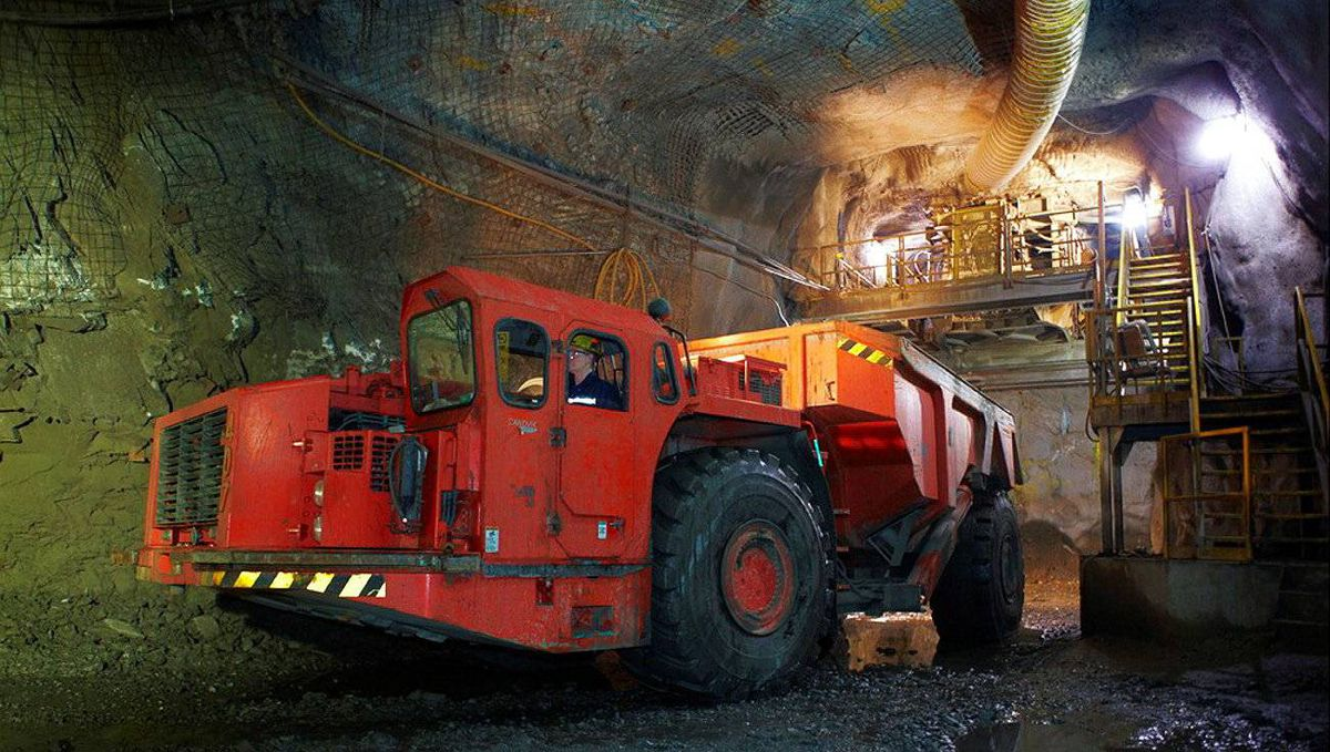 Production at Hudbay flagship mine, the 777 in Flin Flon, Man.