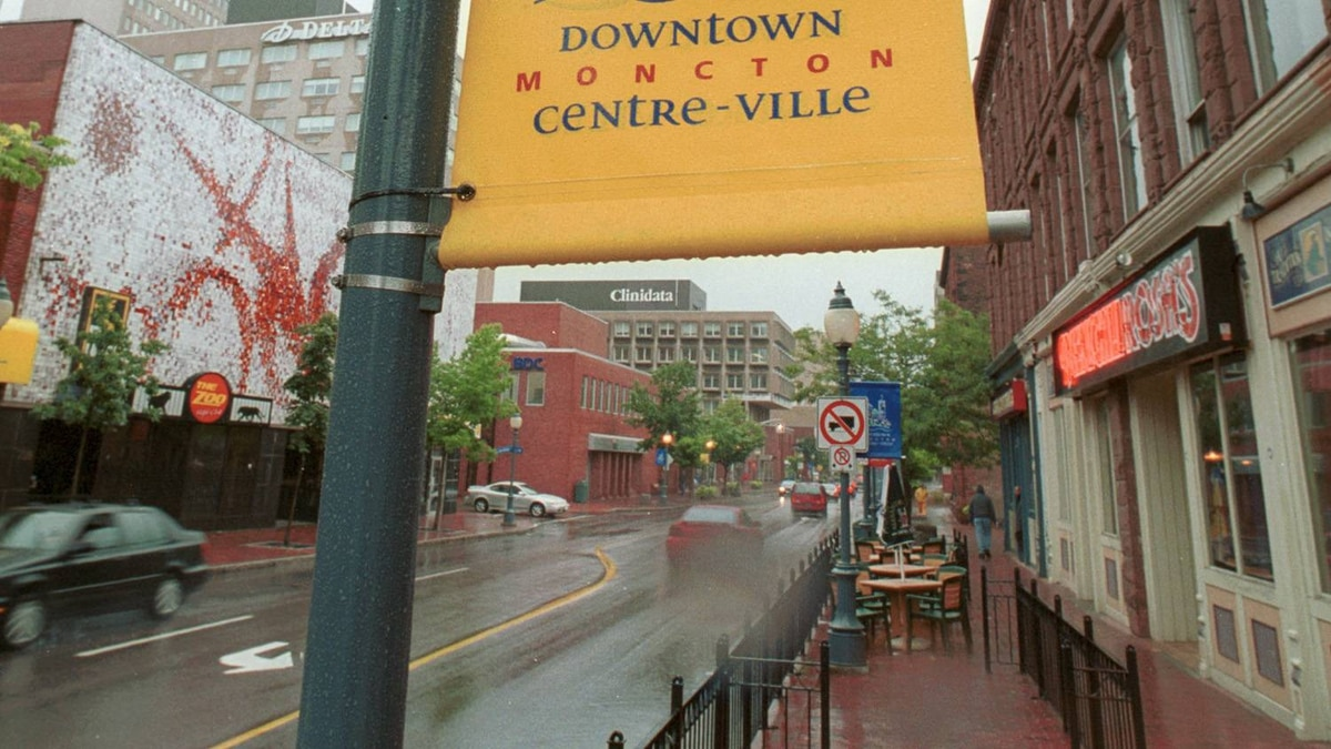 The city of Moncton.