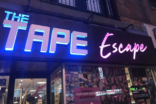Set in a phantom video rental shop, The Tape Escape wants you to puzzle like it's 1999
