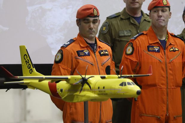 Military facing likely delay in delivery of new search-and-rescue plane