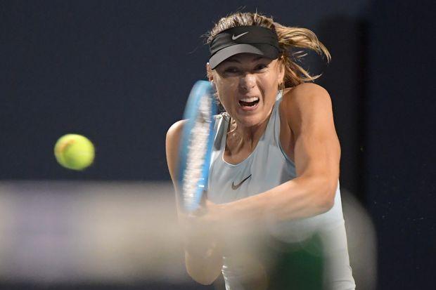 Maria Sharapova says goodbye to tennis