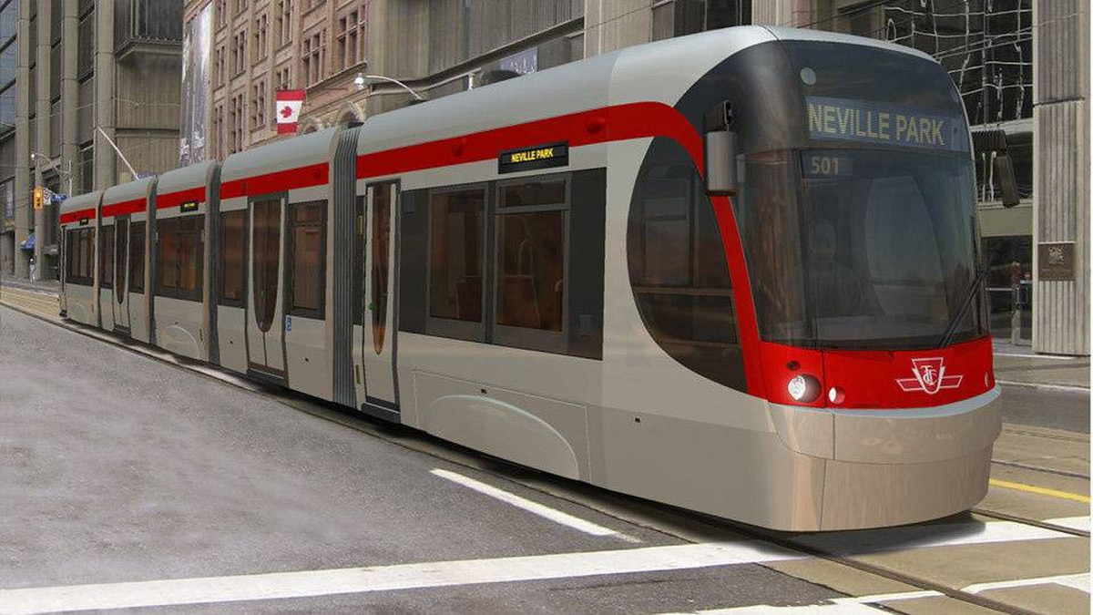 State-of-the-art streetcars, designed by Canadian transport manufacturer Bombardier Inc., will begin entering service in 2013 in Toronto with the promise of a better customer experience.