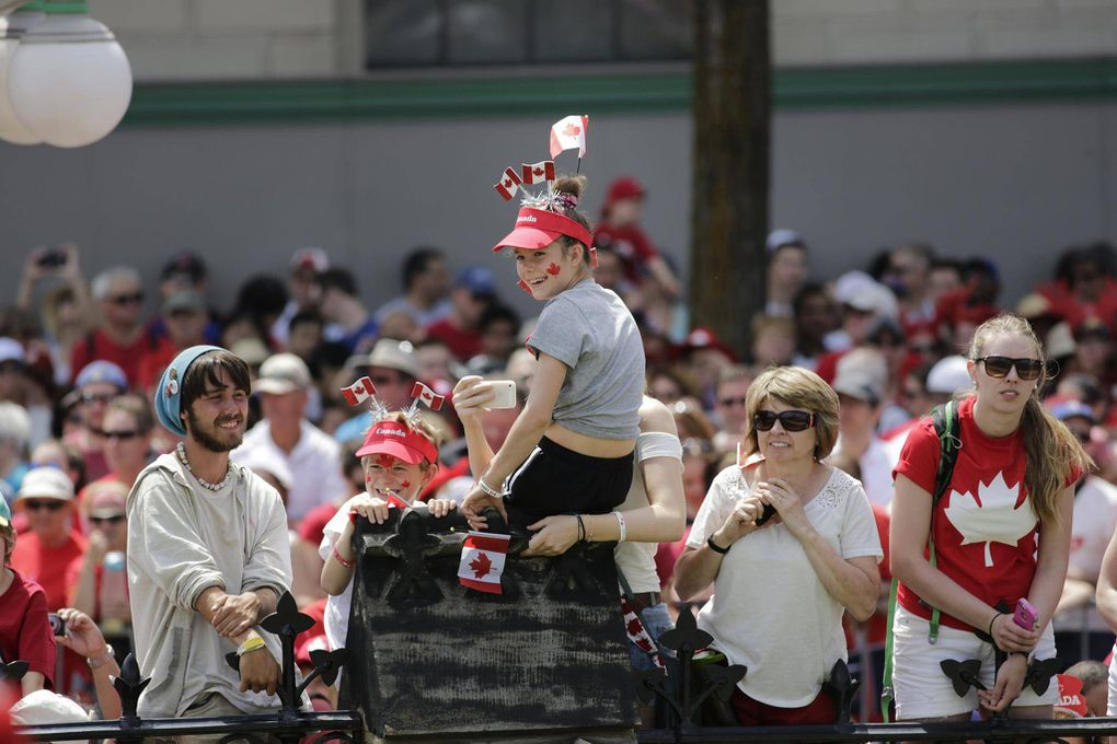 Canada Day Celebrations At Parliament Hill The Globe And Mail