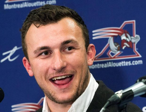 Former Alouette Johnny Manziel confident as he begins his latest football comeback with Memphis Express