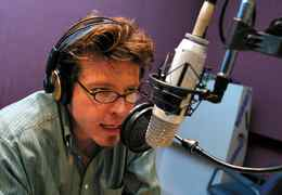 Richard Syrett, producer and conspiracy theory talk show host with CFRB 1010 News Talk Radio.
