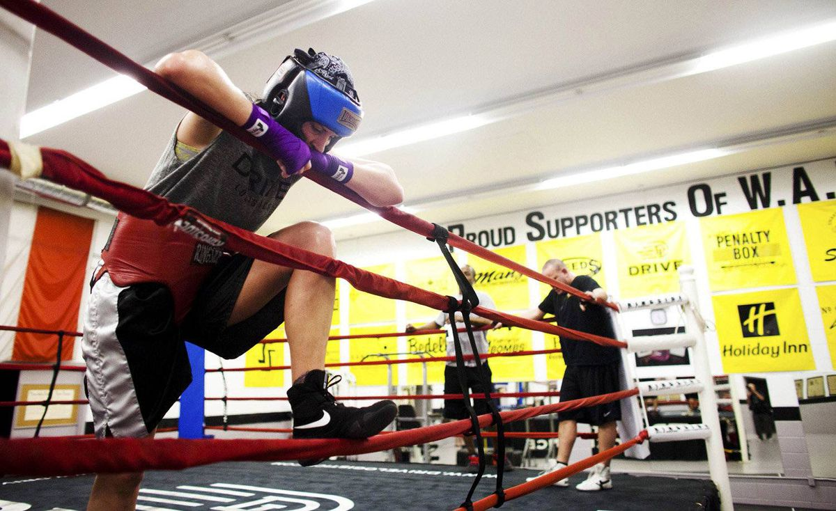 Mary Spencer of Wiarton, Ont., is a three-time world champion fighting out of the Windsor Boxing Club as women's boxing makes its Olympic debut.