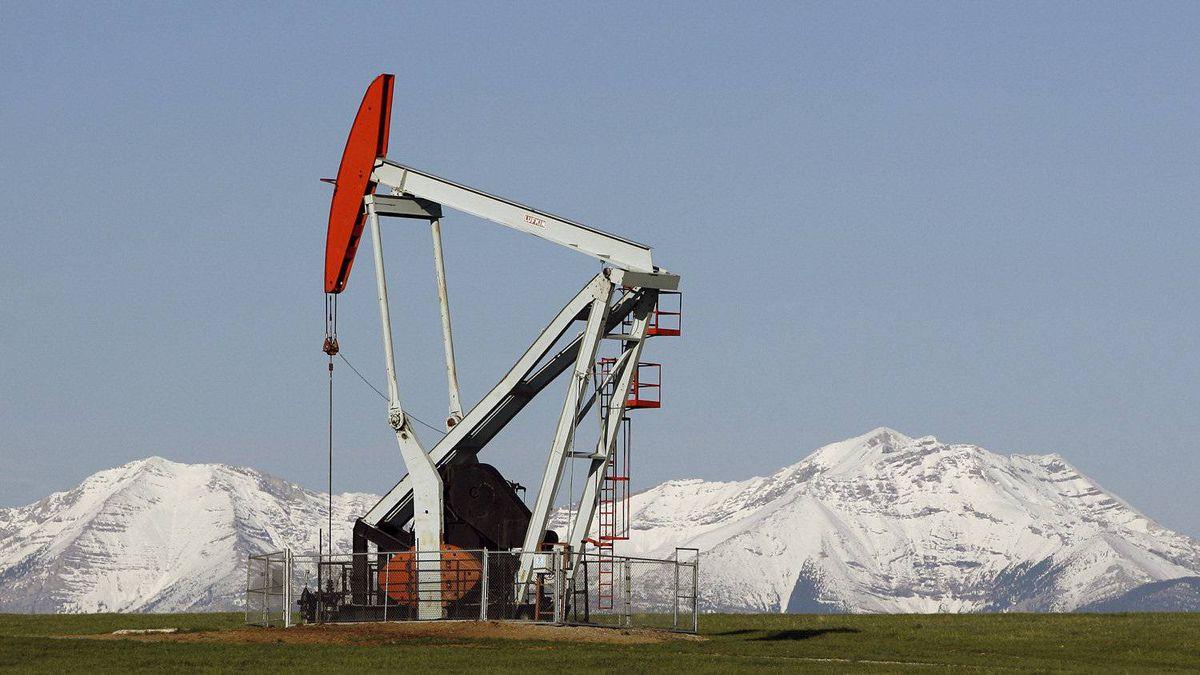 A Talisman pump jack in Alberta