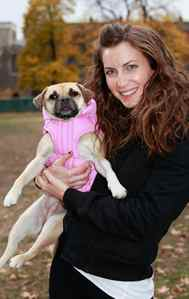 Canada Pooch owner Jacqueline Prehogan with her puggle Bella.