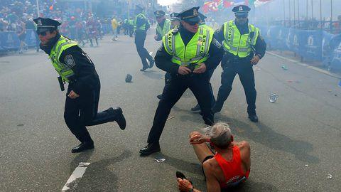 Meet the marathoner, 78, whose photo captured global attention