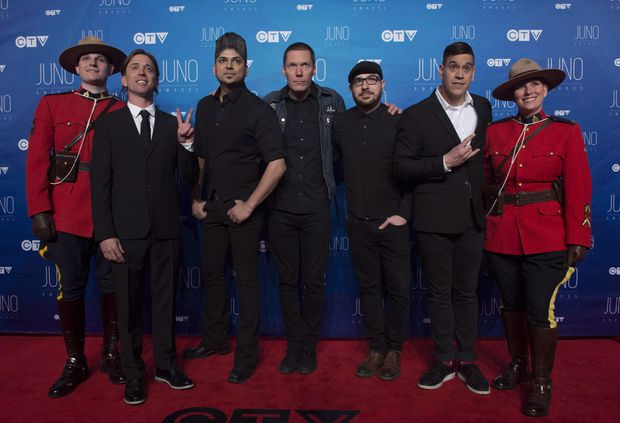 Canadian band Billy Talent criticizes Ontario culture minister for arts funding