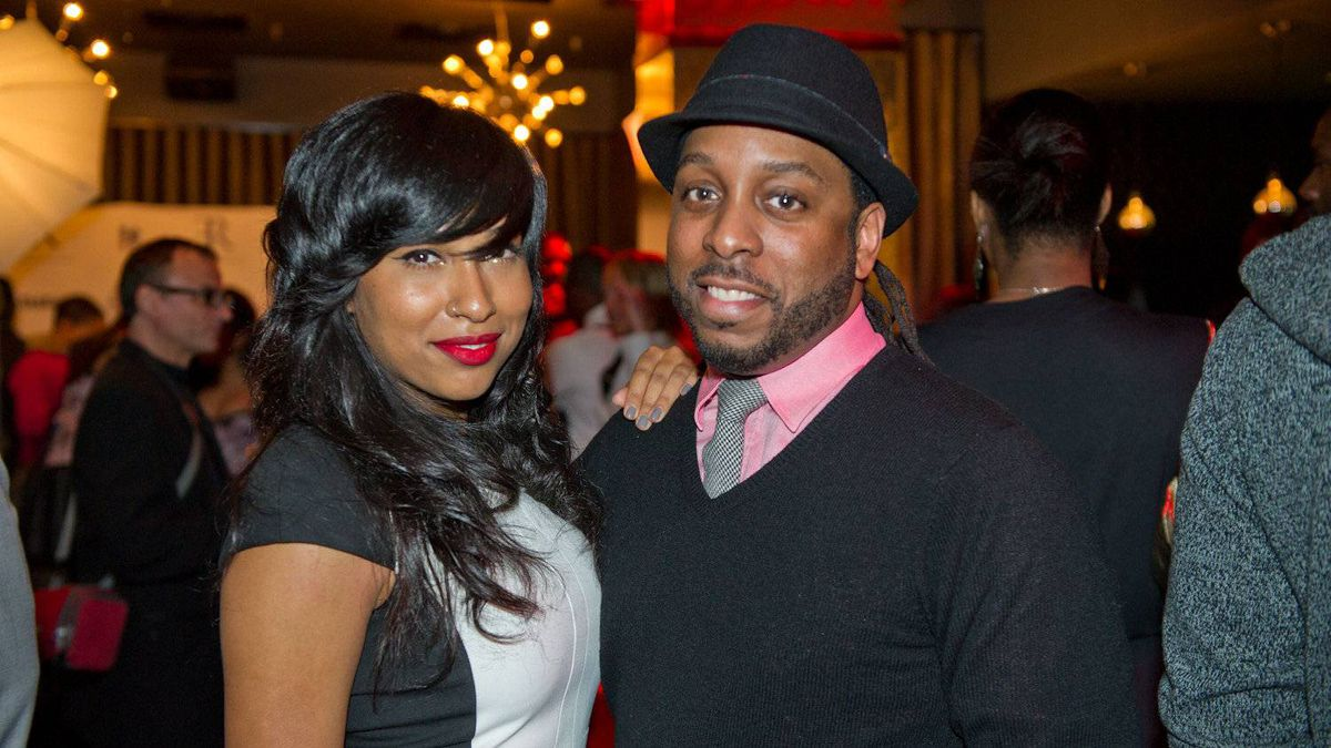 Melanie Fiona and DJ Agile
