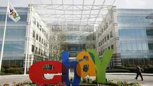 The headquarters of eBay in San Jose, Calif.
