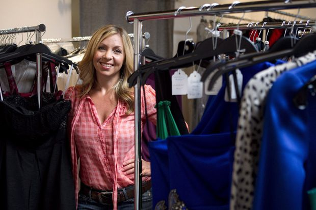 1a1be525229df Rent Frock Repeat, co-owned by Kristy Wieber, offers everyday clothing on a  subscription basis.