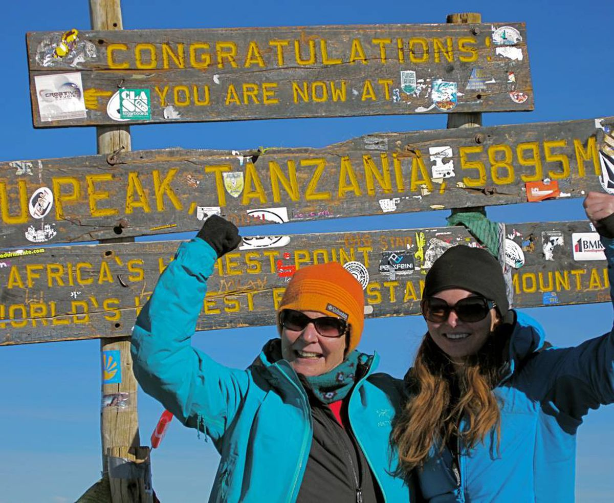 In January 2011, my daughter Tess and I headed off on a 7 day climb to the top of Mount Kilimanjaro, Africa's highest mountain. It was a trip done on a dare - a challenge we celebrated at the top.