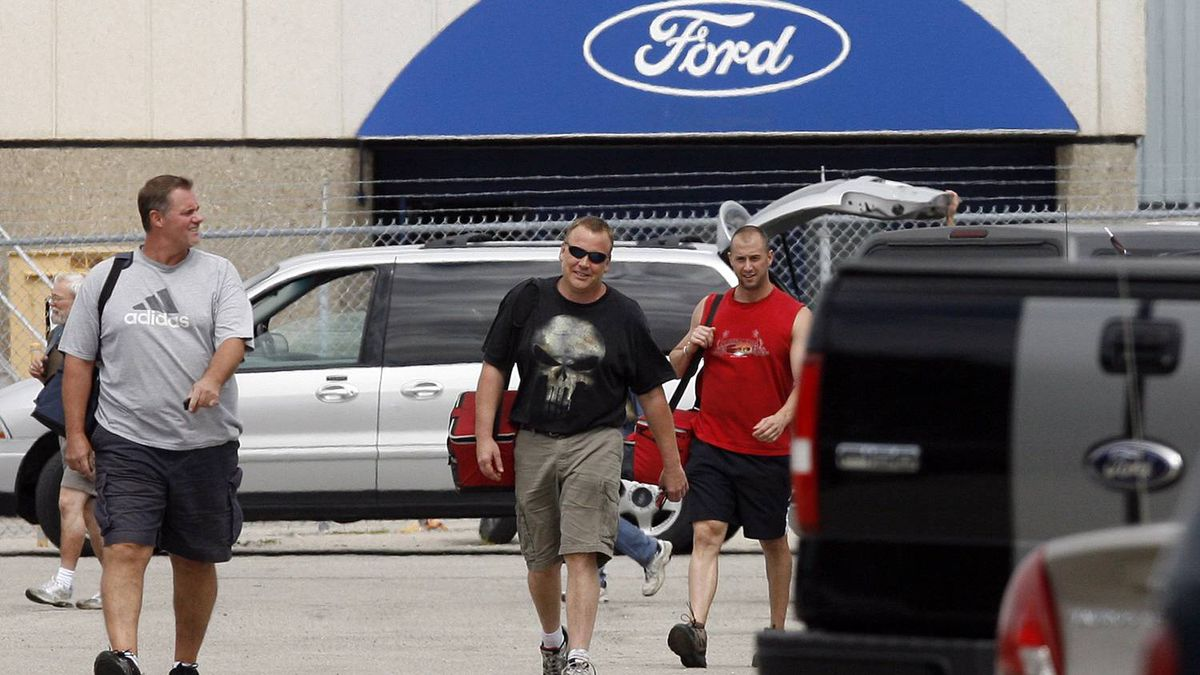 Ford canada 39 s labour costs highest in world source the for Ford motor company employee login