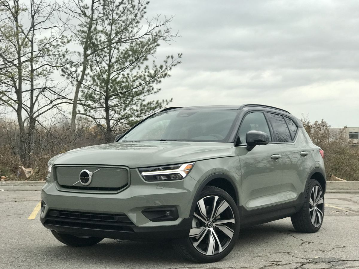 A look at the 2021 Volvo XC40 Recharge SUV, the brand's ...