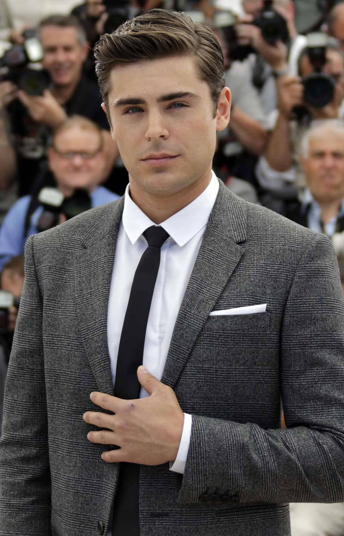Zac Efron, seen here at the Cannes Film Festival in Cannes, France, last week, is all like, I don't think that guy was, um, actually dancing. That's okay, Zac, you're good people. These next few slides will help you understand Canada a little better.