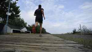 Runner Dave Emilio