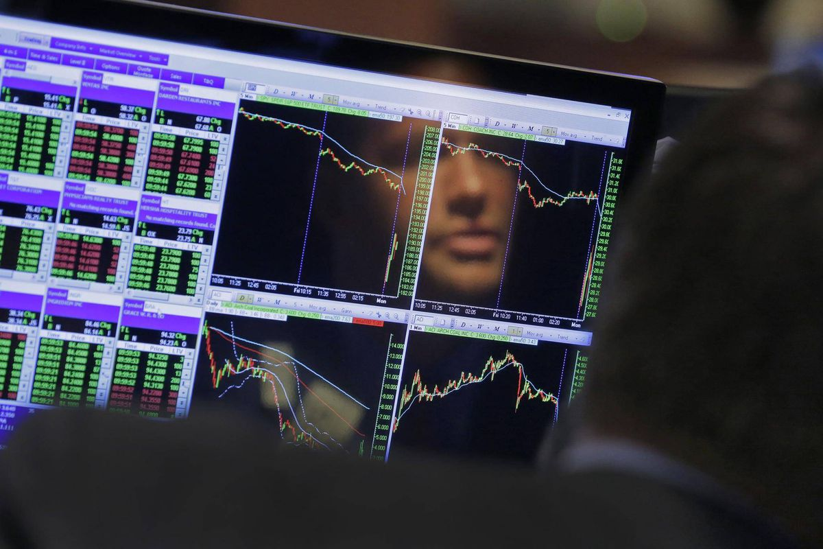 traders reflect on crazy day amid dramatic swings panic